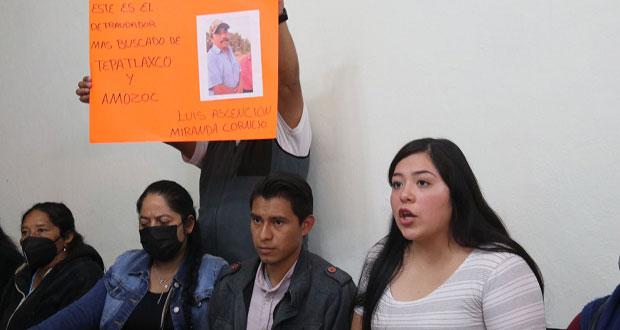 Acusan fraude por terrenos en Amozoc y Tepatlaxco