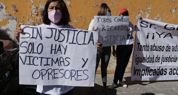 Acusan proceso inequitativo contra detenido por muerte de RMV