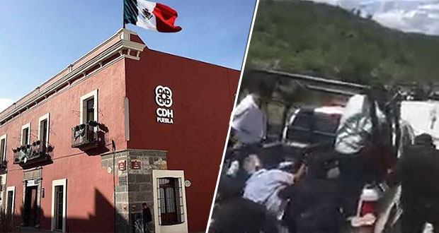 CDH investiga detención de menor en desalojo de relleno sanitario de Tehuacán