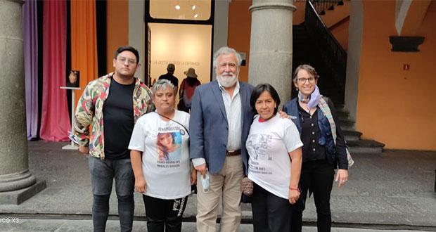 Colectivo se reúne con Encinas; confían que se avalará Ley de Desaparecidos