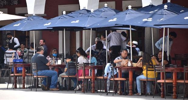 Continúan sin abrir 270 restaurantes en Puebla por pandemia