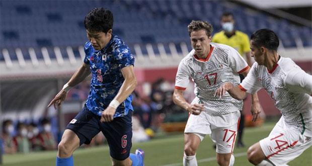 Dura caída de México en el fútbol olímpico contra Japón