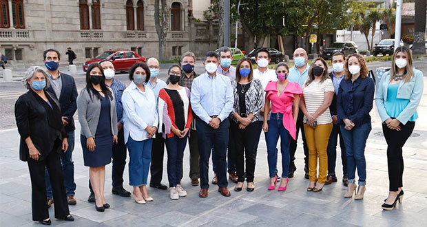 Eduardo Rivera se reúne con regidores electos; trazan estrategia