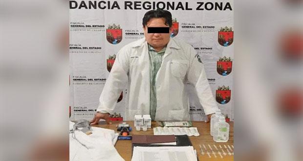 """En Chiapas, cae """"médico"""" que aplicaba vacunas contra Covid falsas"""