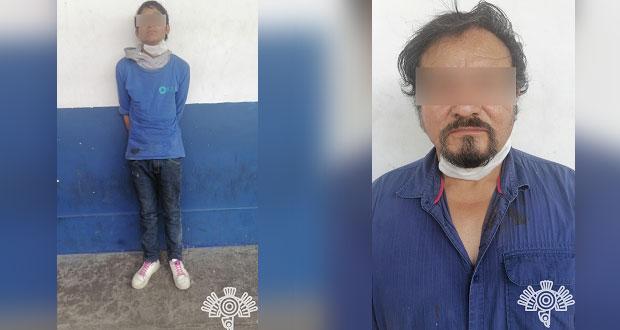 En Cuautlancingo, detienen a dos por narcomenudeo