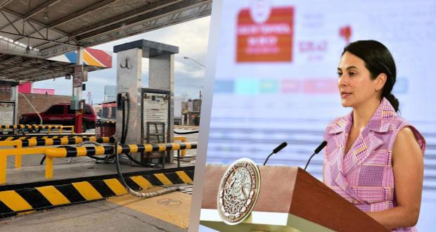 Dos estaciones en Acatlán, con el gas LP más barato de región centro