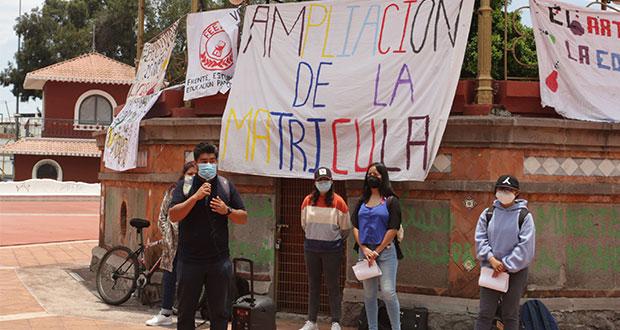Frente exigirá becas en incorporadas para rechazados de la BUAP