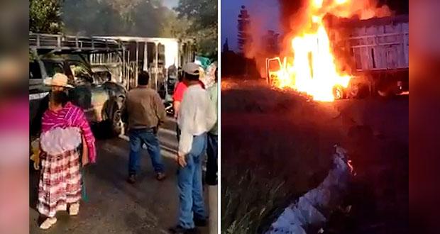 Grupos armados bloquean carreteras y atacan a policías en Michoacán