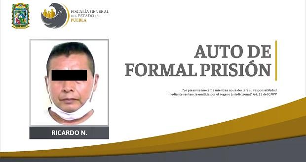 Hombre va a prisión por violación calificada en contra de su hija