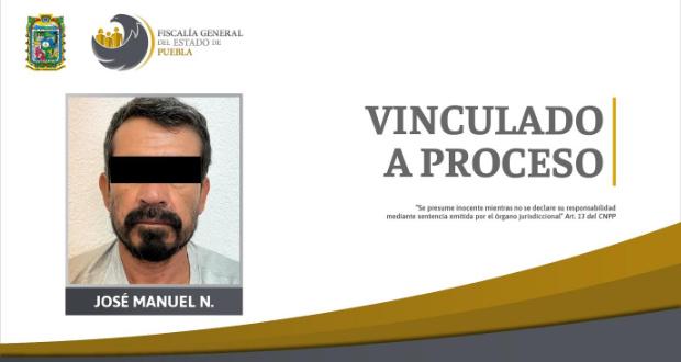 """La FGE detuvo a José Manuel """"N"""", pues en Amalucan discutió con su vecino, una persona de la comunidad Lgbtttiq, a quien asesinó."""