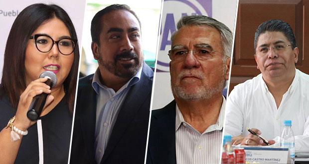 Huerta, Micalco, Fraile y Castro, interesados en dirigir PAN de Puebla