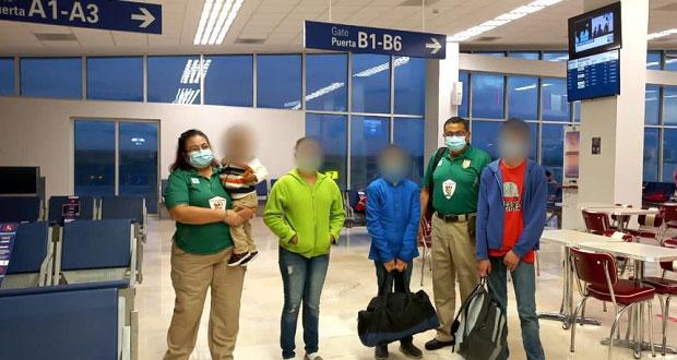 INM reúne con su familia a niño hondureño abandonado en Veracruz
