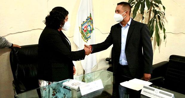 Karina Pérez y Tlatehui continúan proceso de entrega-recepción