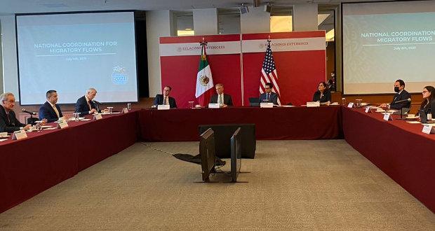 México y Estados Unidos se reúnen para tratar temas de migración