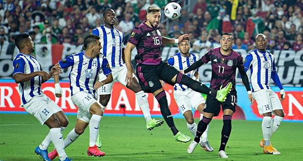 México golea a Honduras y se mete a semifinales de la Copa Oro