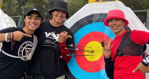 México clasifica en segundo de tiro con arco femenil