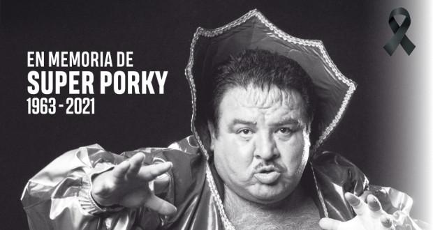 Muere el luchador Súper Porky a los 58 años