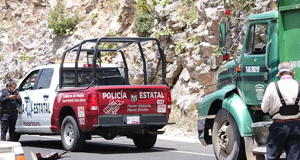 Muere mujer tras choque en Periférico Ecológico; hay un detenido