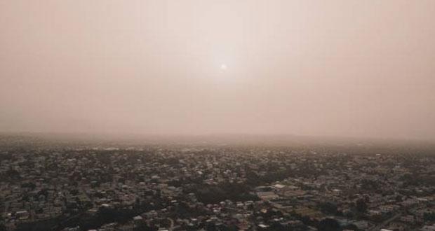 Nube de polvo del Sahara cubre Yucatán