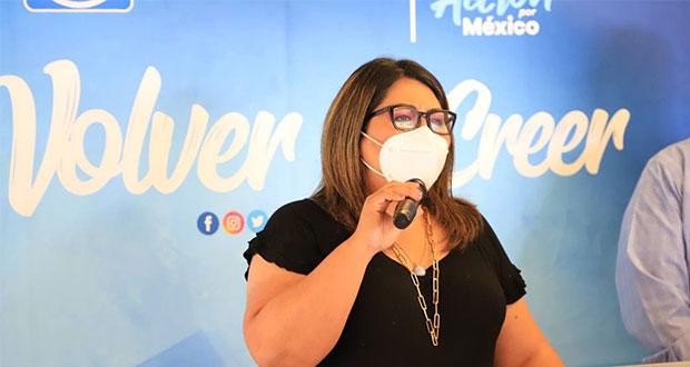 PAN debe de trabajar en equipo y no dividido: Genoveva Huerta