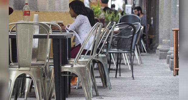 Por reducción de aforo, ven baja en ventas de 30% en restaurantes