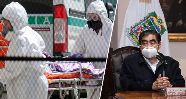 Puebla, con tendencia en repunte de contagios por Covid-19: Barbosa