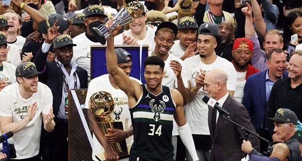 Se acaba la sequía: Milwauke es campeón de NBA después de 50 años