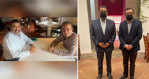 Se reúnen dirigentes de bancadas en Puebla; privilegiarán acuerdos