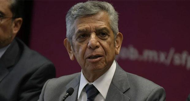 Sube confianza en gobierno federal con combate a corrupción: Salcedo