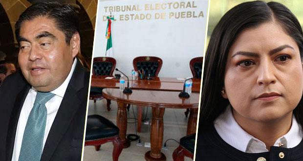 TEEP desecha quejas de violencia de género de Claudia Rivera contra Barbosa