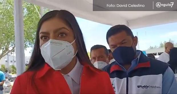 Tras veda electoral, se darán apoyos Covid: Claudia Rivera