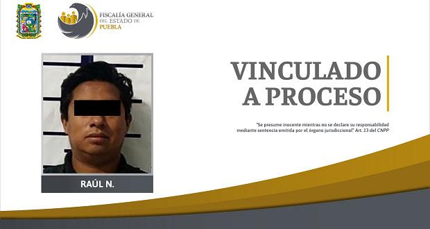 Vinculan a proceso a sujeto por abuso sexual en San Martín Texmelucan