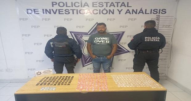 Detienen en Xicotepec a hombre por asaltar vehículos de carga