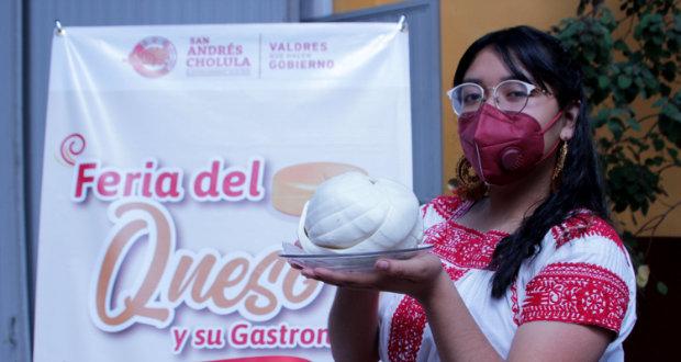 Acude a la Feria del Queso en Tonantzintla; pruébalos todos