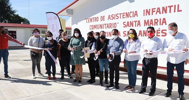 Karina Pérez inaugura CAIC con inversión de 2.9 mdp