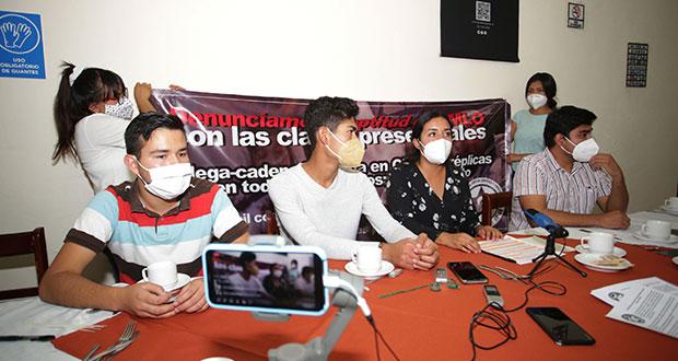 No hay condiciones para regresar a aulas: Fnerrr en Puebla