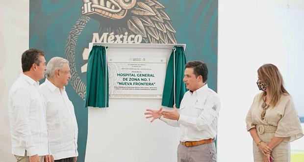 Nuevo hospital de IMSS en Chiapas, para 250 mil derechohabientes