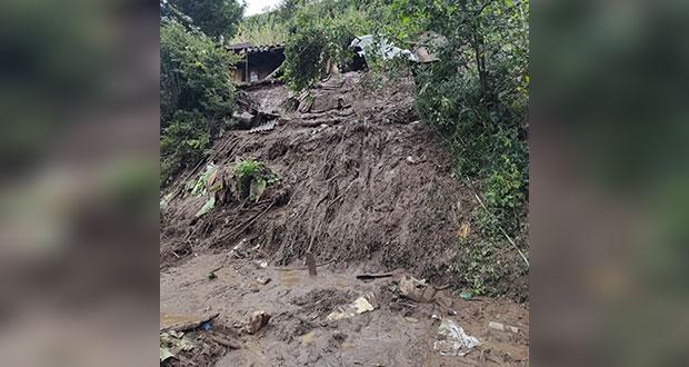 """Bienestar da apoyos en Puebla para afectados por """"Grace"""""""