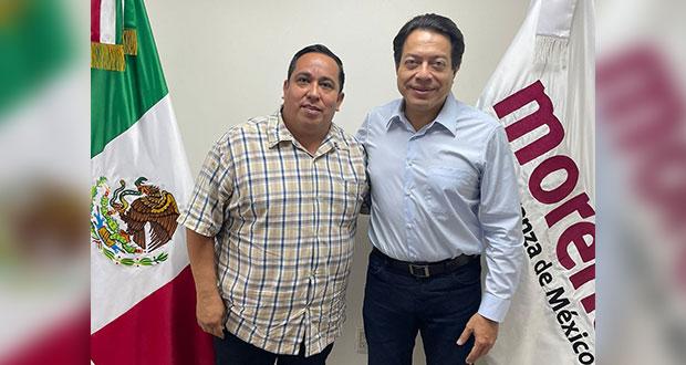 Quitan a Evangelista Secretaría contra Corrupción de Morena; seguirá de enlace