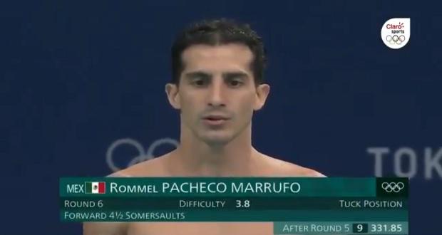 Sin medalla y con aplausos, se va Rommel Pacheco de Juegos Olímpicos