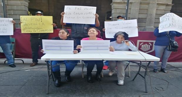 Confirman fallo a favor de Vidal como líder sindical en Comuna poblana
