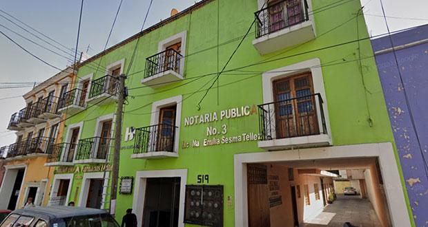 Titular de notaría 3 en Cholula, investigada por venta ilegal: Barbosa