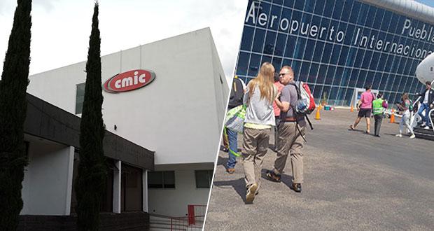 CMIC buscará participar en modernización de Aeropuerto Internacional de Puebla