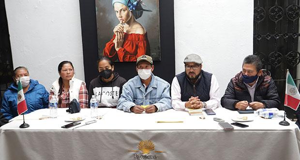 Con amenazas, Grupo Proyecta se apodera de tierras en Malacatepec, acusan