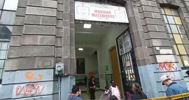 Con medidas sanitarias, alumnos ingresan a primaria Mariano Matamoros en el CH