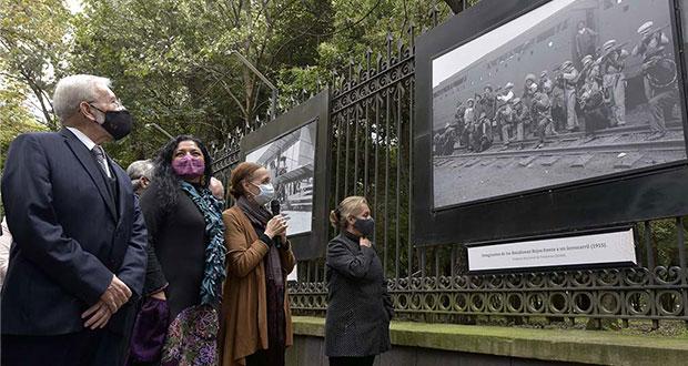 Con muestra fotográfica, exponen 130 años de historia de la SCT