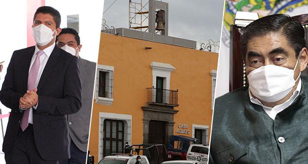 Confirma Eduardo Rivera asistencia al Grito en Casa Aguayo con Barbosa