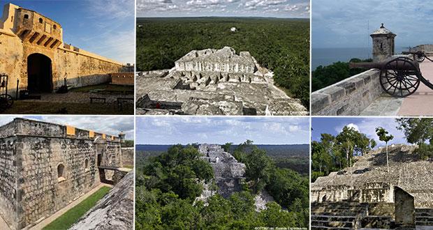 Conoce la Ciudad fortificada y Calakmul, los patrimonios de Campeche