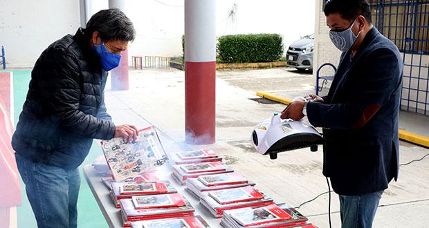 Cordes reciben libros gratuitos para secundarias y telesecundarias
