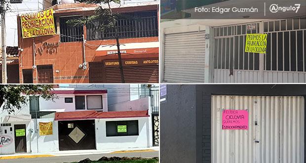 De poner ciclovía, que sea del lado de camellón, exigen vecinos de San Manuel